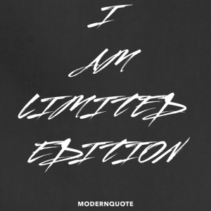 I AM LIMITED EDITION - Adjustable Apron