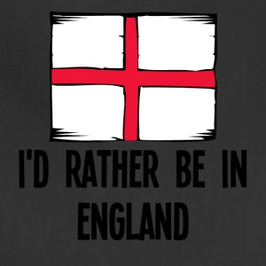 I'd Rather Be In England - Adjustable Apron