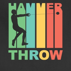 Vintage Hammer Throw Graphic - Adjustable Apron