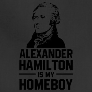 hamilton is homeboy - Adjustable Apron