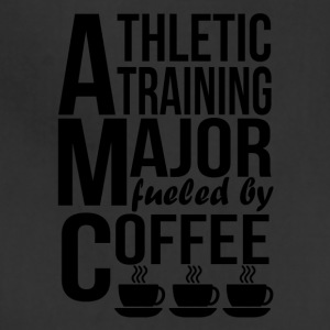 Athletic Training Major Fueled By Coffee - Adjustable Apron
