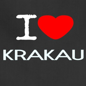 I LOVE KRAKAU - Adjustable Apron