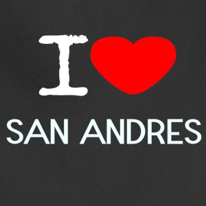 I LOVE SAN ANDRES - Adjustable Apron