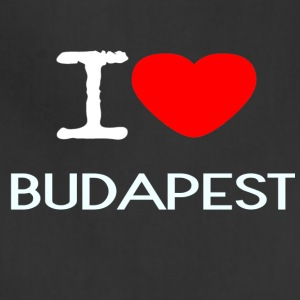 I LOVE BUDAPEST - Adjustable Apron