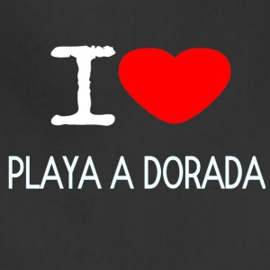I LOVE PLAYA A DORADA - Adjustable Apron