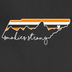 Smokies strong Gatlinburg t shirt - Adjustable Apron