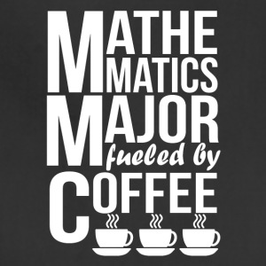 Mathematics Major Fueled By Coffee - Adjustable Apron