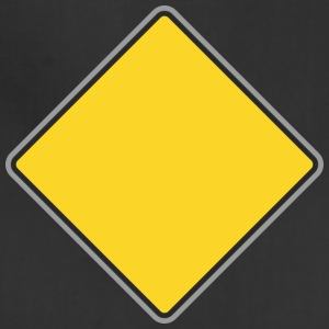 Road_Sign_yellow - Adjustable Apron