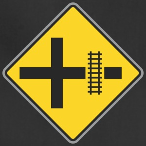 Road_Sign_Train_way_yellow - Adjustable Apron