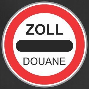 Road_sign_zoll_douane - Adjustable Apron