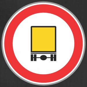 Road_sign_yellow_truck - Adjustable Apron