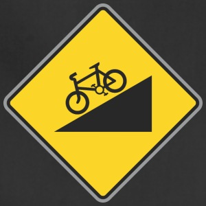 Road_Sign_angle_bicycle_way - Adjustable Apron