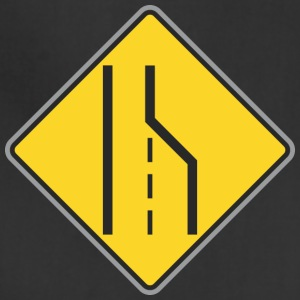 Road_Sign_right_and_curve_ways_right_yellow_thin - Adjustable Apron