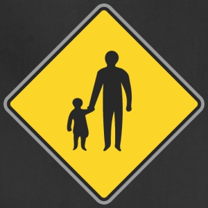 Road_Sign_man_with_child - Adjustable Apron