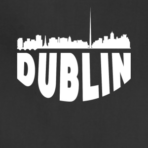Dublin Ireland Cityscape Skyline - Adjustable Apron
