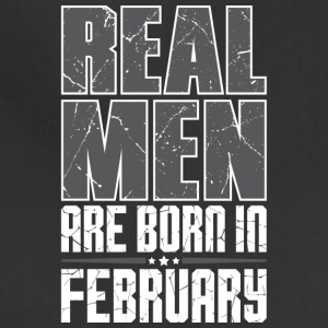 Real Men Are Born In February - Adjustable Apron