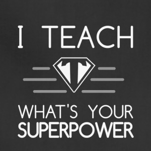 Super Teacher - Adjustable Apron