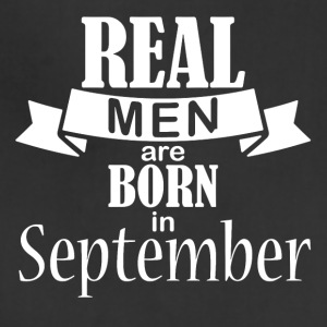 Real men born in September - Adjustable Apron