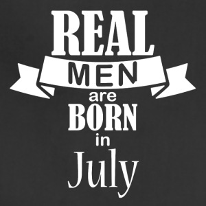 Real men born in July - Adjustable Apron