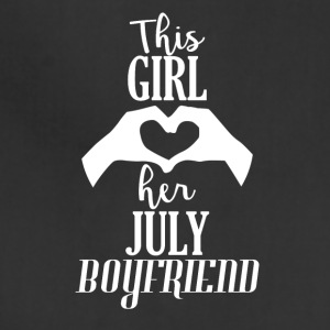 This Girl loves her July Boyfriend - Adjustable Apron