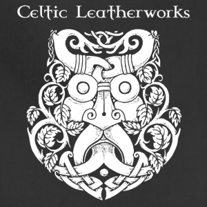 Green Man by Celtic Leatherworks - Adjustable Apron