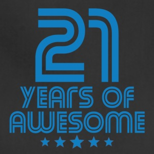 21 Years Of Awesome 21st Birthday - Adjustable Apron