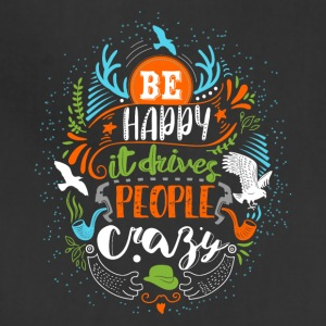 Be happy - Adjustable Apron