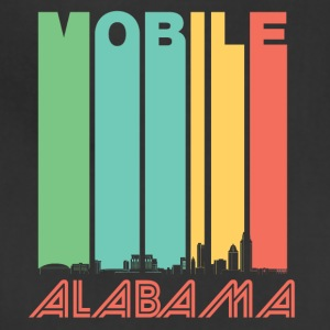 Retro Mobile Alabama Skyline - Adjustable Apron