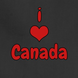 i love canada - Adjustable Apron