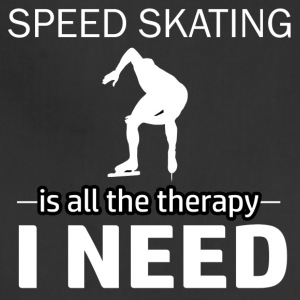 Speedskating is my therapy - Adjustable Apron