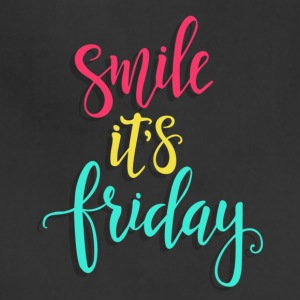 Smile its Friday - Adjustable Apron