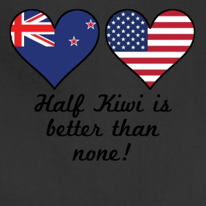 Half Kiwi Is Better Than None - Adjustable Apron