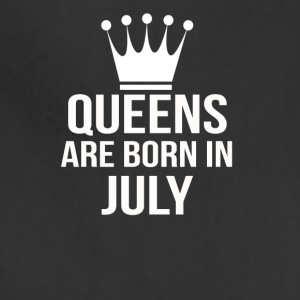 queens are born in july - Adjustable Apron