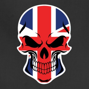 British Flag Skull - Adjustable Apron
