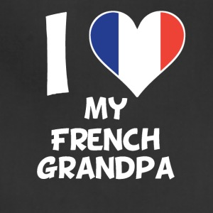 I Heart My French Grandpa - Adjustable Apron