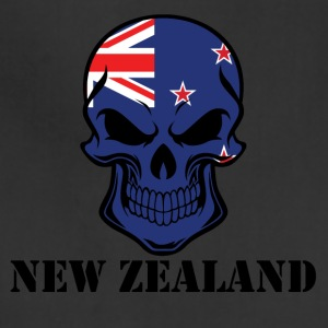 New Zealand Flag Skull - Adjustable Apron