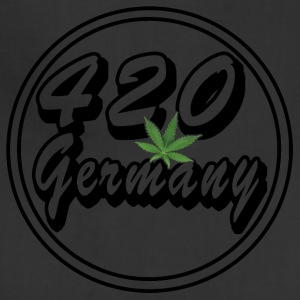 420 Germany Hemp Leaf - Adjustable Apron