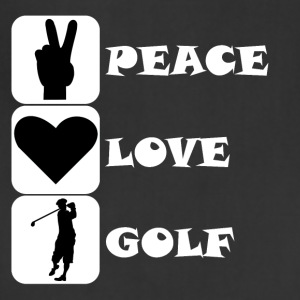 Peace Love Golf - Adjustable Apron