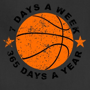 7 Days A Week Basketball - Adjustable Apron