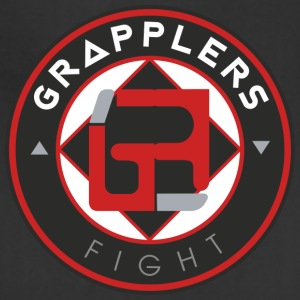Dark 001 grapplersfight LOGO Back - Adjustable Apron