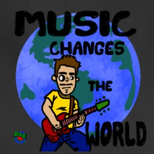 MUSIC CHANGES THE WORLD - Adjustable Apron
