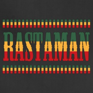 reggae rastaman - Adjustable Apron