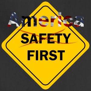 Safety umm America First Yellow - Adjustable Apron