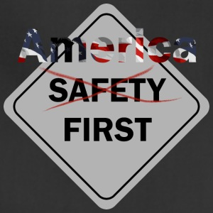 Safety umm America First Grey - Adjustable Apron