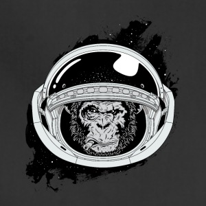 Space monkey Black and white Art - Adjustable Apron
