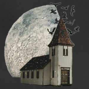 House with moon - Adjustable Apron