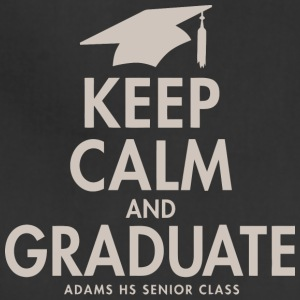Keep Calm And Graduate Adams High School Seniors 2 - Adjustable Apron
