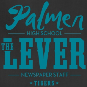 Palmer High School The Lever Newspaper Staff Tiger - Adjustable Apron