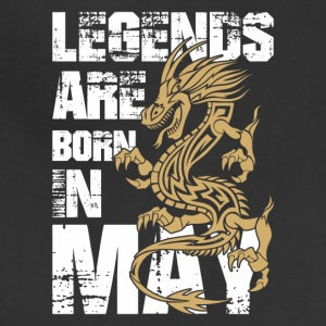 Legends Are Born in May Dragon - Adjustable Apron