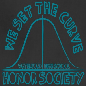 WE SET THE CURVE WATERFORD HIGH SCHOOL HONOR SOCIE - Adjustable Apron